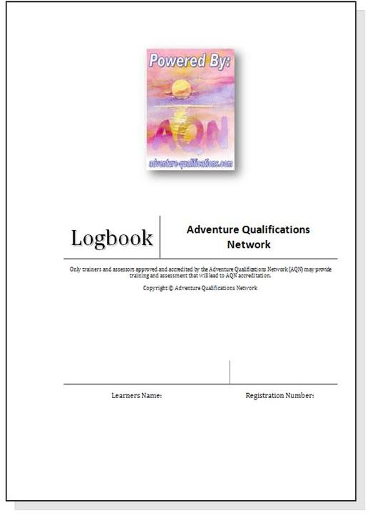 Logbook cover